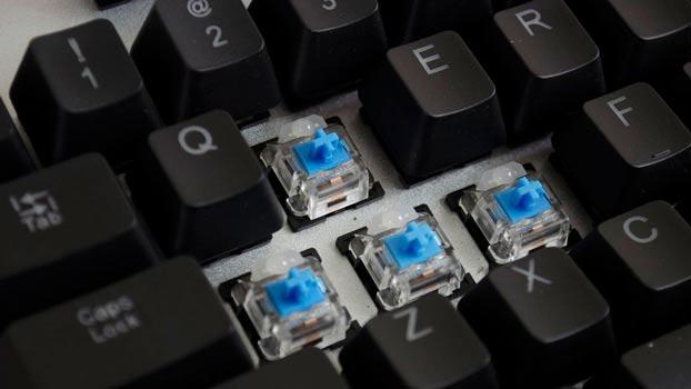Tipos de teclados gaming mecánico